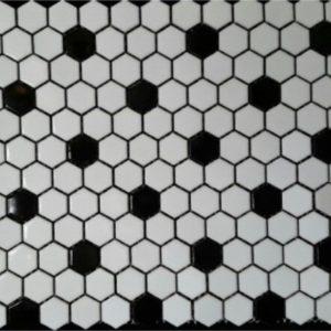 white blackpointmattehexagon1x1