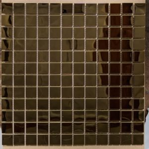 Stainless Gold Mosaic 11.82x11.82