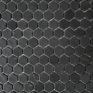 natureglass black hexagon