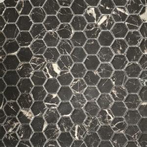 nero marquina hexagon